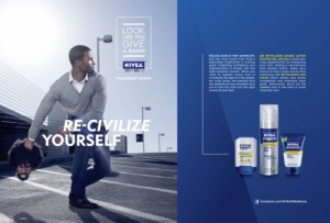 Black Man in Nivea Campaign Natural Hair Is Uncivilized