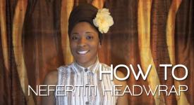 Nefertiti Headwrap Tutorial