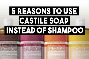 Dr Bronner's Castile Soap as Shampoo Product Review