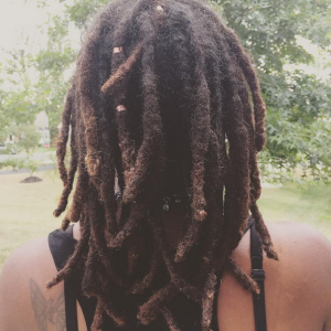 Thick Locs Air Drying - CURLYNUGROWTH.com