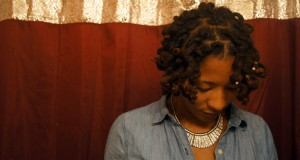 Top View of the Wrap-A-Loc Curls on Thick Locs - CURLYNUGROWTH.com