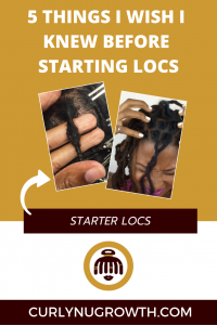 5 Things I Wish I Knew Before Starting Locs