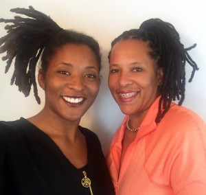 Jocelyn Renee and Mom with Locs - CURLYNUGROWTH.com