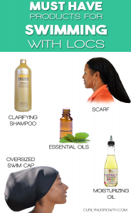 5 Must Have Products for Swimming With Locs - CurlyNuGrowth.com