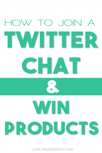 WHAT IS A TWITTER CHAT - CURLYNUGROWTH.com