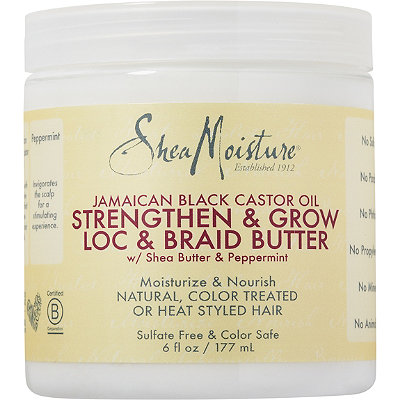 Shea Moisture Loc & Braid Butter