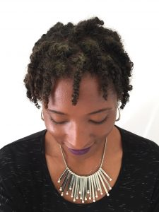 Week One Starter Locs With Two Strand Twists