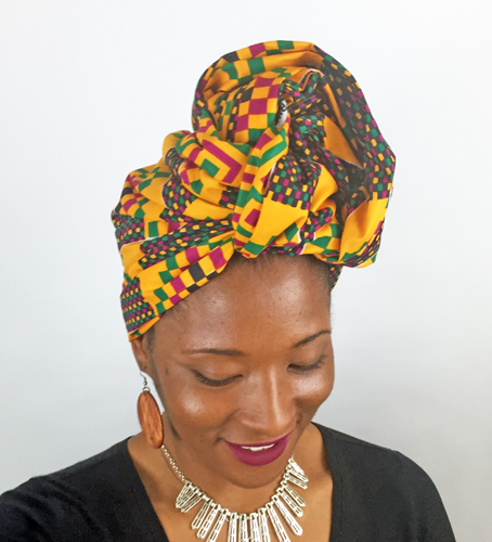 Headwrap Style for Locs