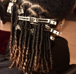 Crescent Parts on Locs