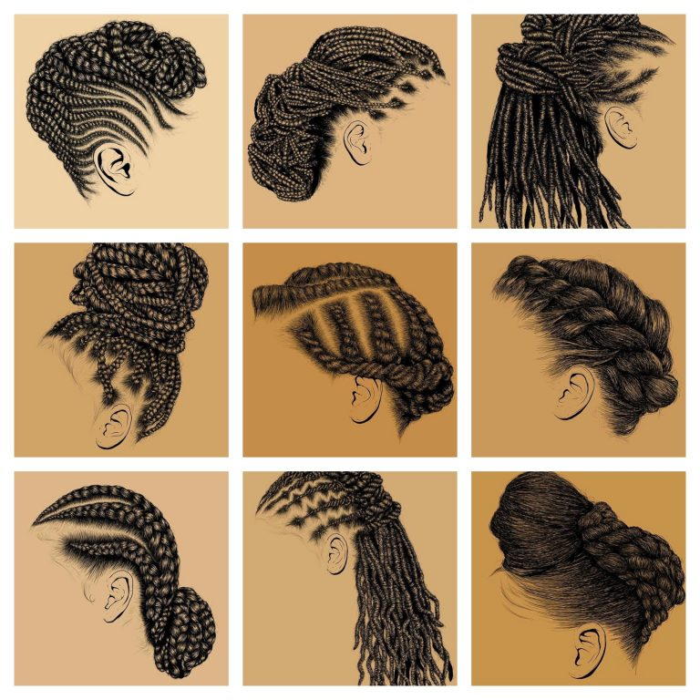 Natural Hair Artwork