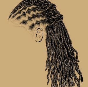Styled Locs - Natural Hair Artwork