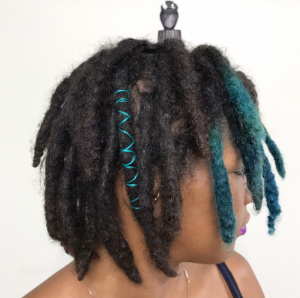 Yarn Wraps for Locs