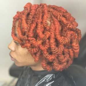 Faux Bob Hairstyle for Locs