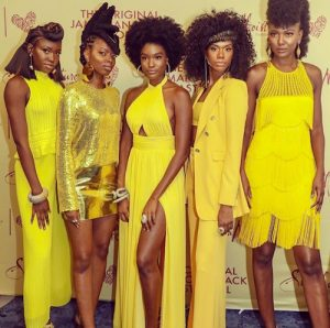 SheaMoisture Texture on the Runway Models