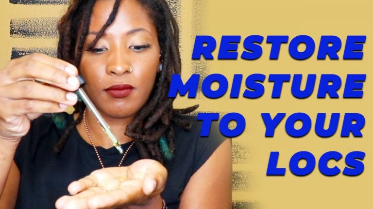 How to Restore Moisture To Your Locs