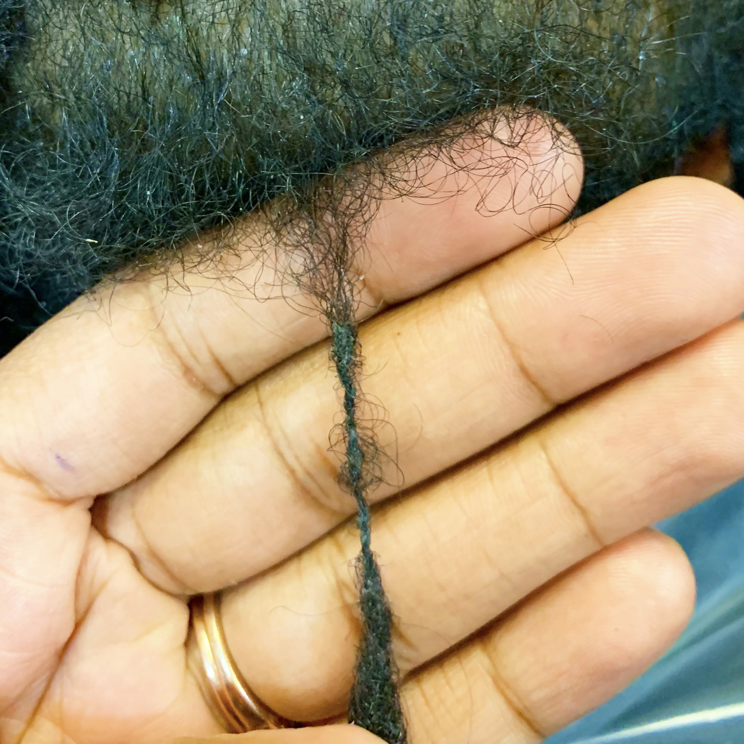 Thinning Roots of Locs from Not Retwisting
