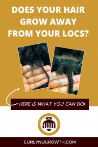 does your hair grow away from your locs