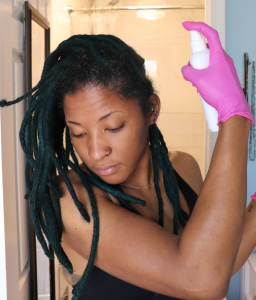 pre cleanse scalp treatment for locs